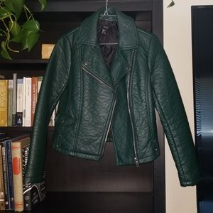 NWOT Forever 21 FAUX LEATHER JACKET